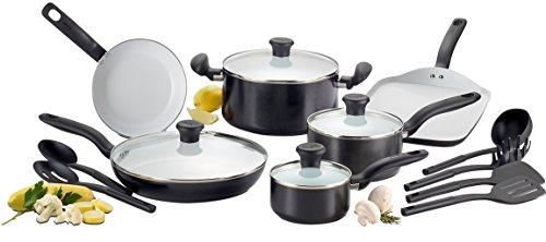T Fal Initiatives Ceramic Non Stick Cookware Set Review