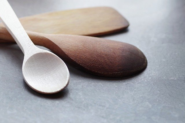 wooden utensils for ceramic nonstick care