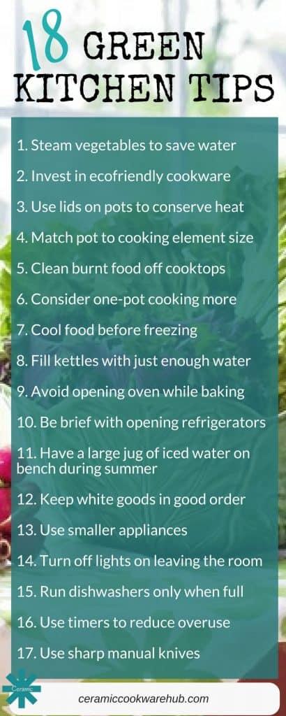 green kitchen, green home, energy saving tips