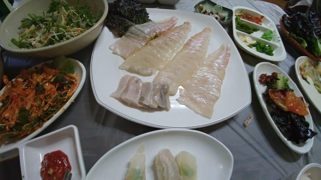 Raw Fish. Favorite food and best advice. What to cook for your guests.
