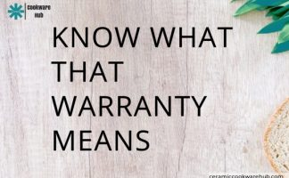 COOKWARE WARRANTIES