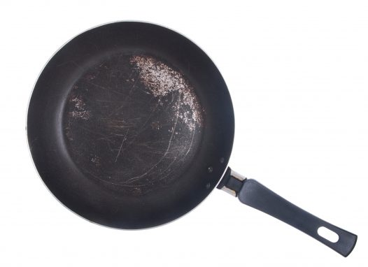 best to replace nonstick pans once surface is worn