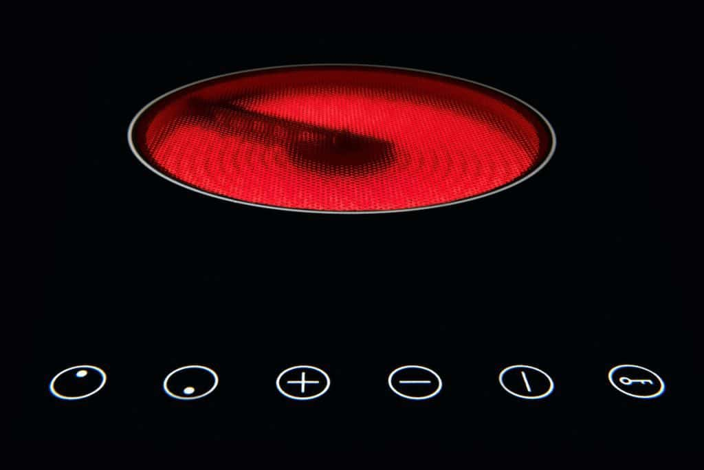 my induction cooktop gets hot