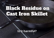 Black Residue on Cast Iron Skillet…Is it Harmful?