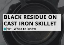 Black Residue on Cast Iron Skillet…Is it Harmful?