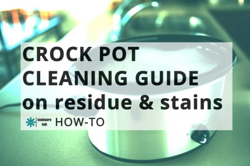 how to clean a crock pot base and insert