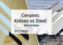 Ceramic Knives Vs Steel Knives In The Kitchen