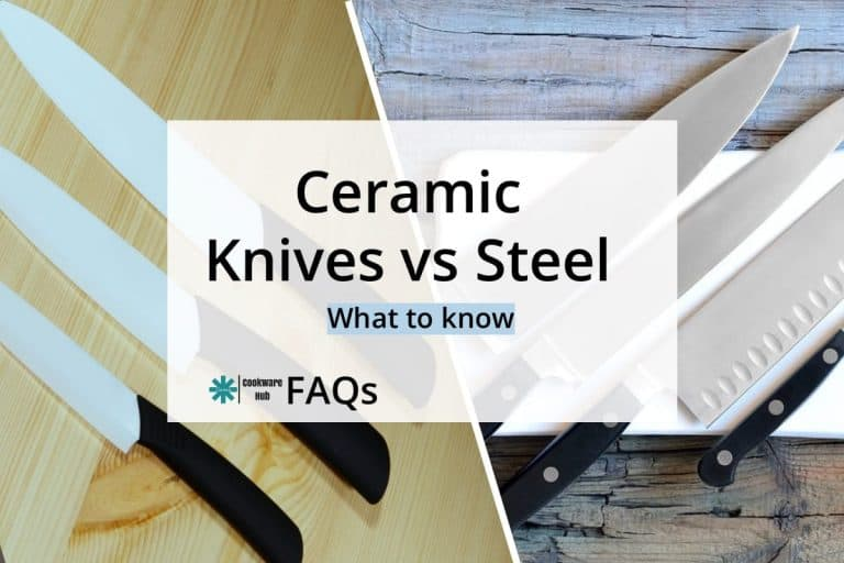 ceramic knives vs steel
