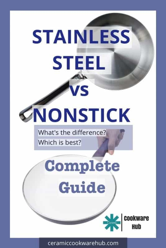 Stainless steel vs nonstick cookware. What's the difference? What's the best?