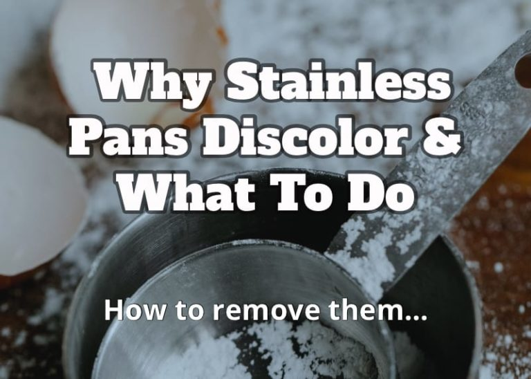 stainless steel discolored