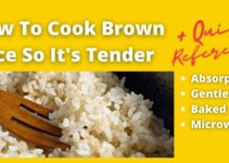 How to Cook Brown Rice in a Pot or Dish [+ quick rice cooking guide]