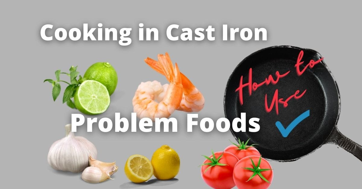 how to use cast iron for anything